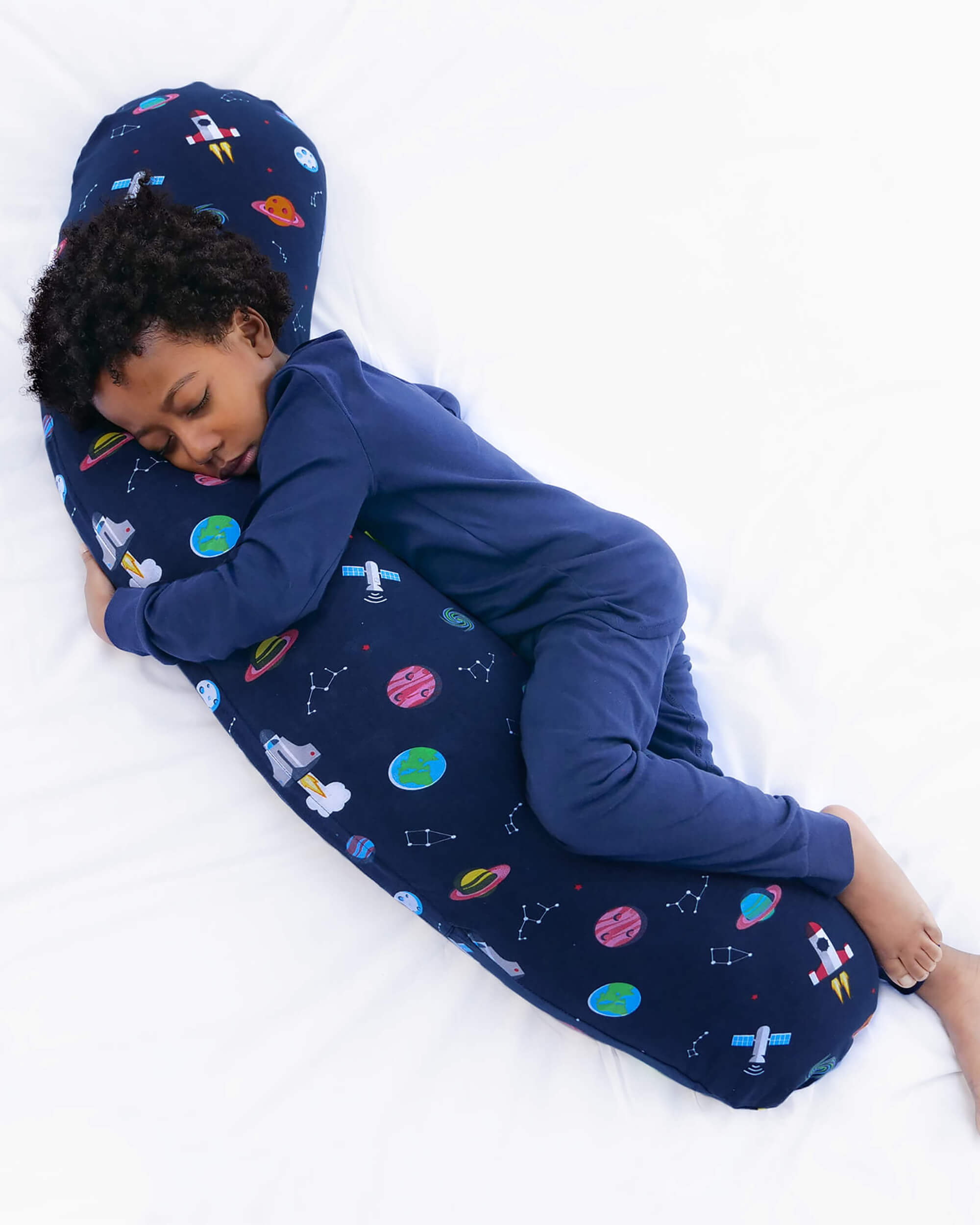 Kids Body Pillow Moon And Back Kally Sleep