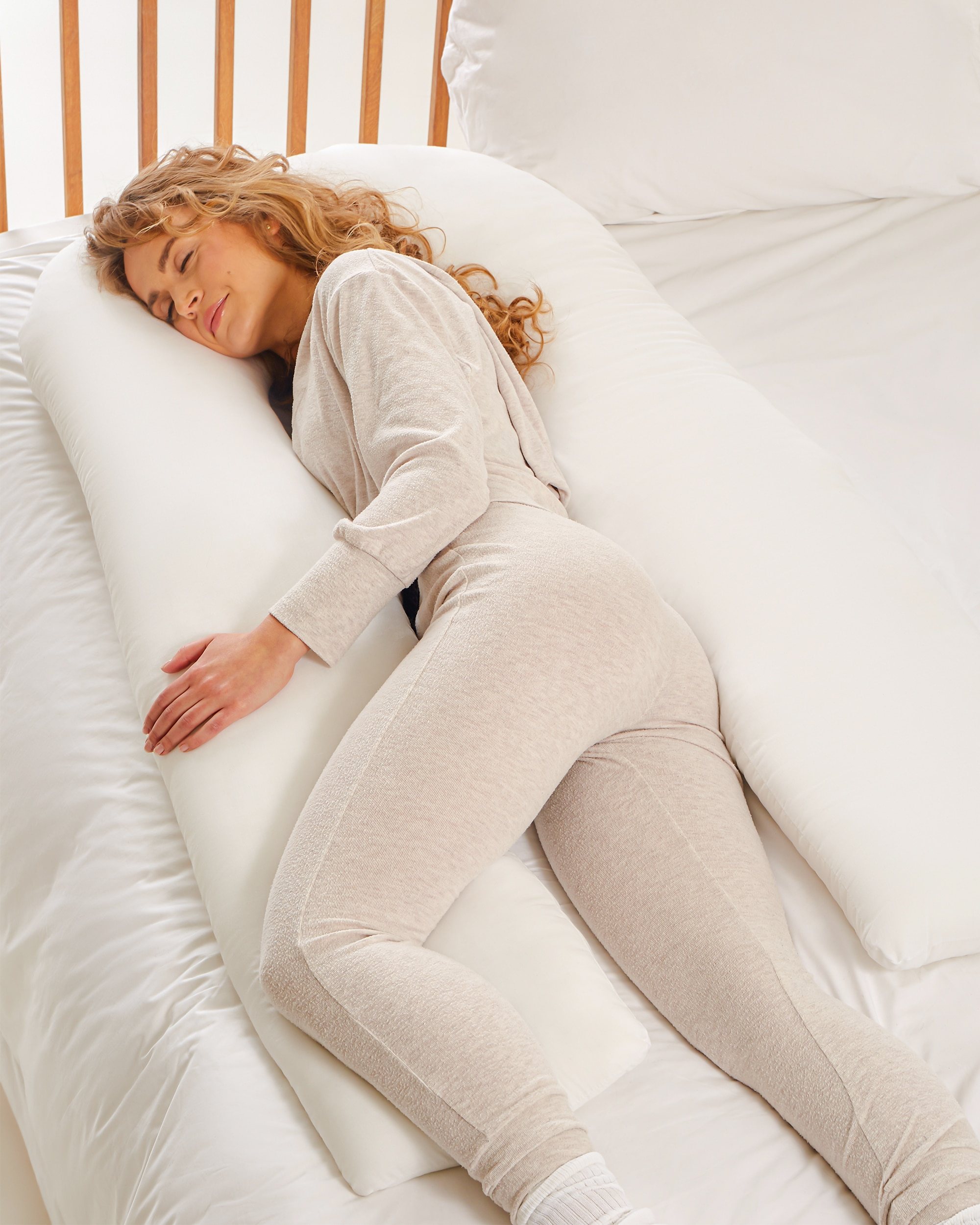 Kally U-Shaped Pregnancy Pillow