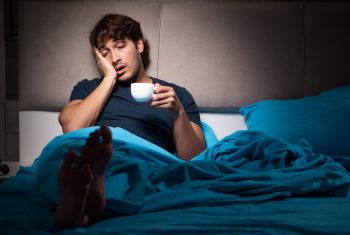 How does drinking coffee affect sleep?