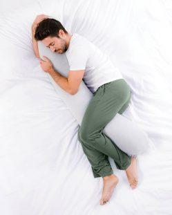 Kally Athlete Body Pillow – Pure White